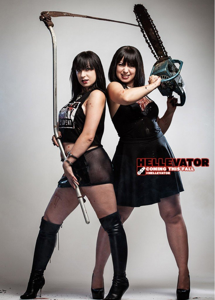 hellevator-Twins