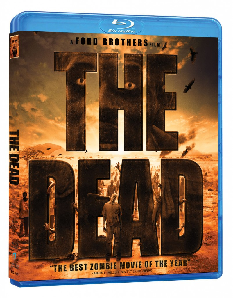 THE DEAD blu-ray 3d