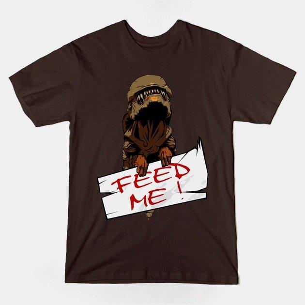 teepublic-FeedMe-AlienShirt